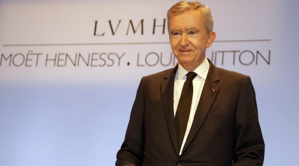 Bernard Arnault, director ejecutivo de LVMH.