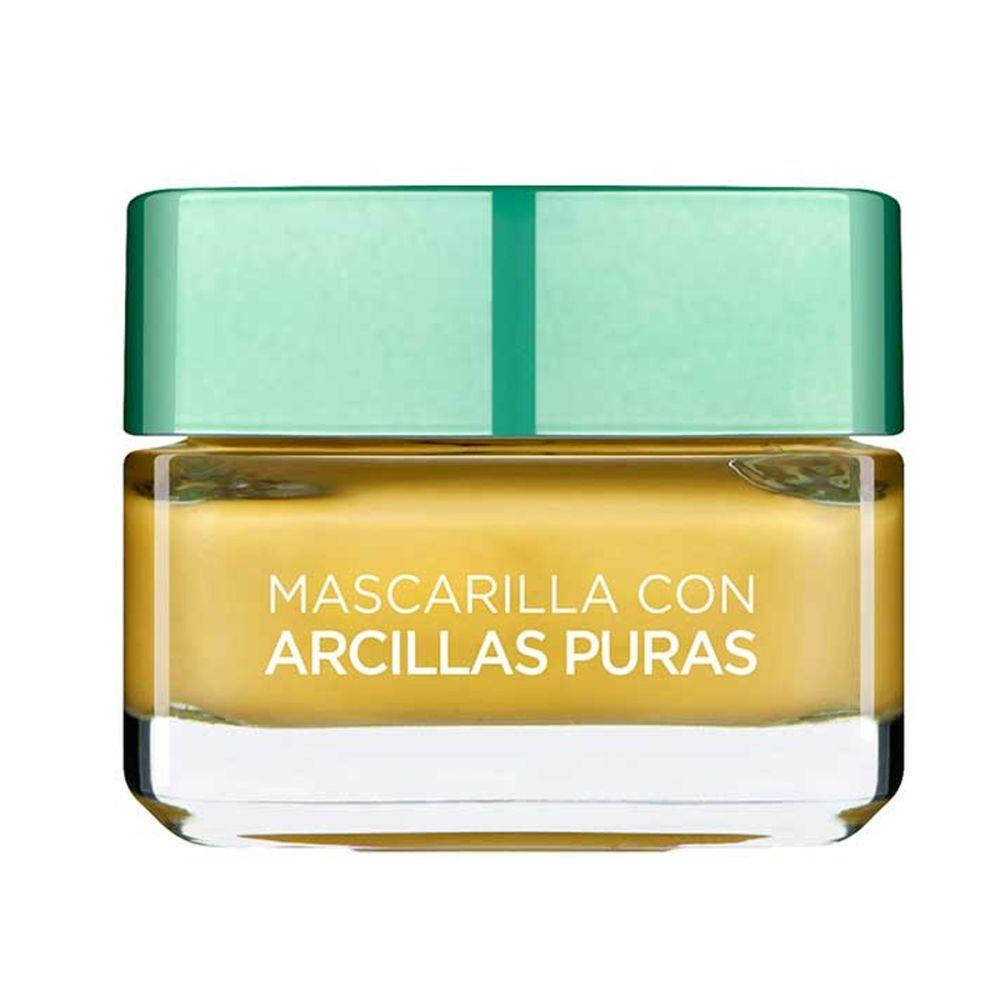 Mascarilla Arcillas Puras efecto iluminador de L'Oréal Paris.