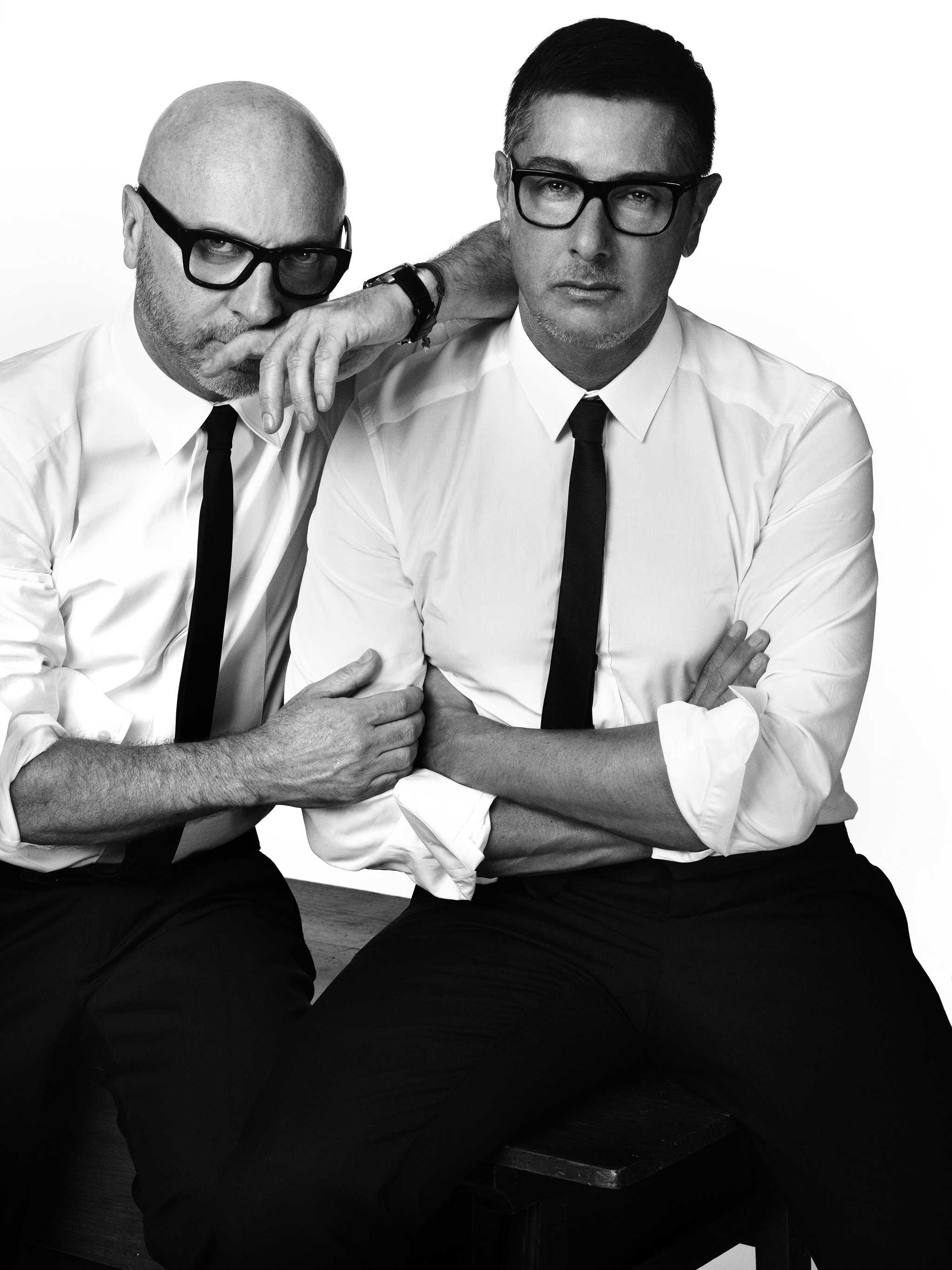 Domenico Dolce y Stefano Gabbana.