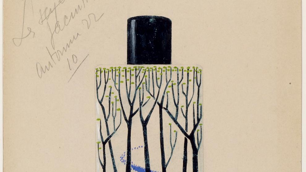 Les Jacinthes, proyecto de perfume para Louis Vuitton, diseño de...