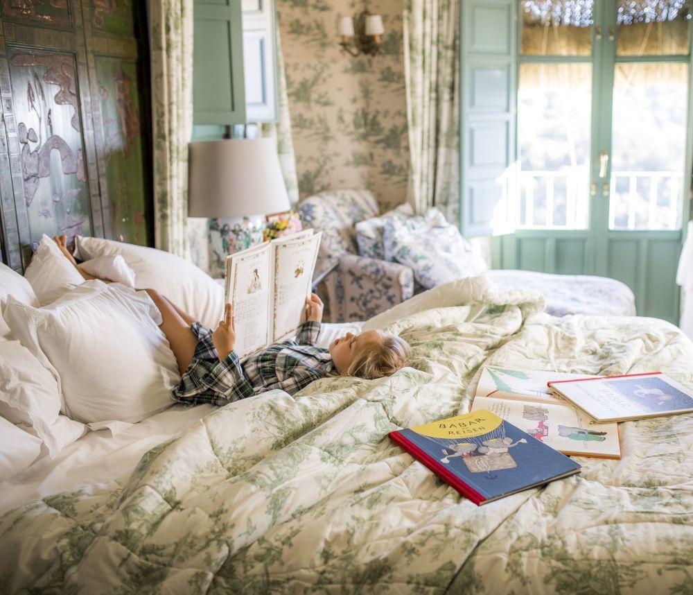 Conviene crear un ambiente previo tranquilo, tanto en la siesta como de noche.