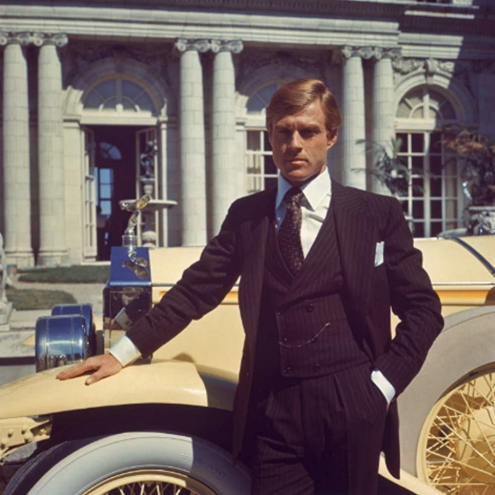 Robert Redford en El gran Gatsby, adaptación al cine de la novela de...