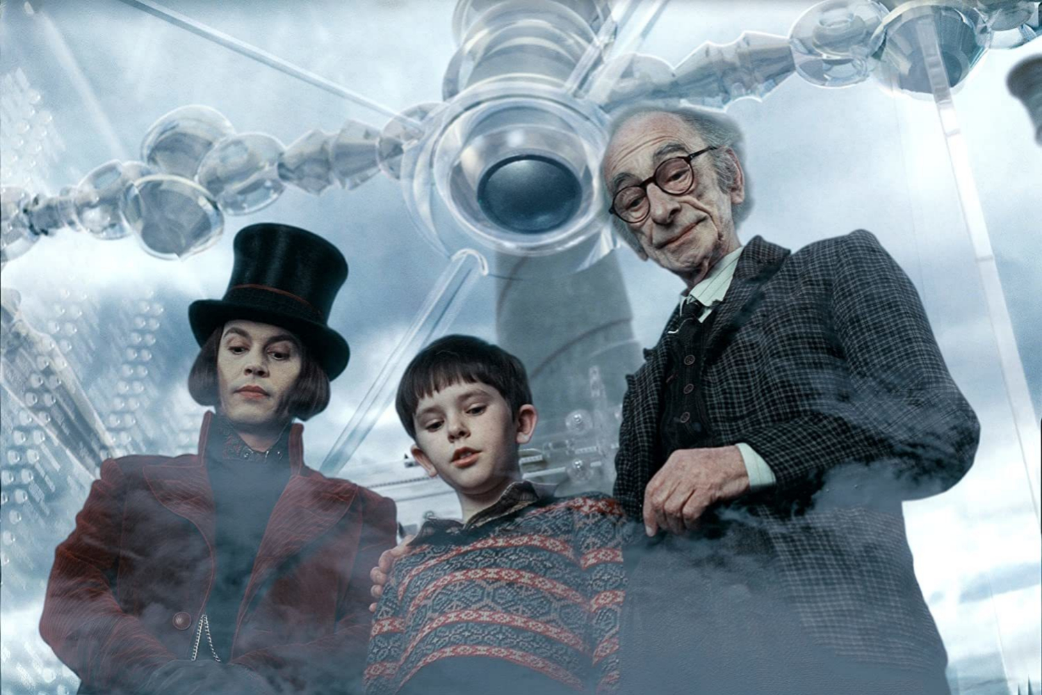 Imagen de la película Charlie y la fábrica de chocolate, basada en...