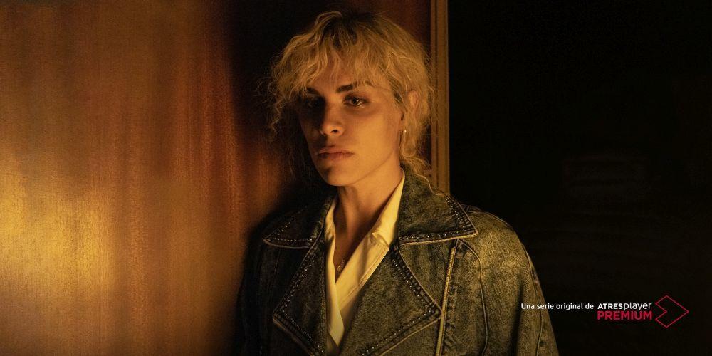 Jedet caracterizada como Cristina Ortiz en sus primeros años, en los 60.