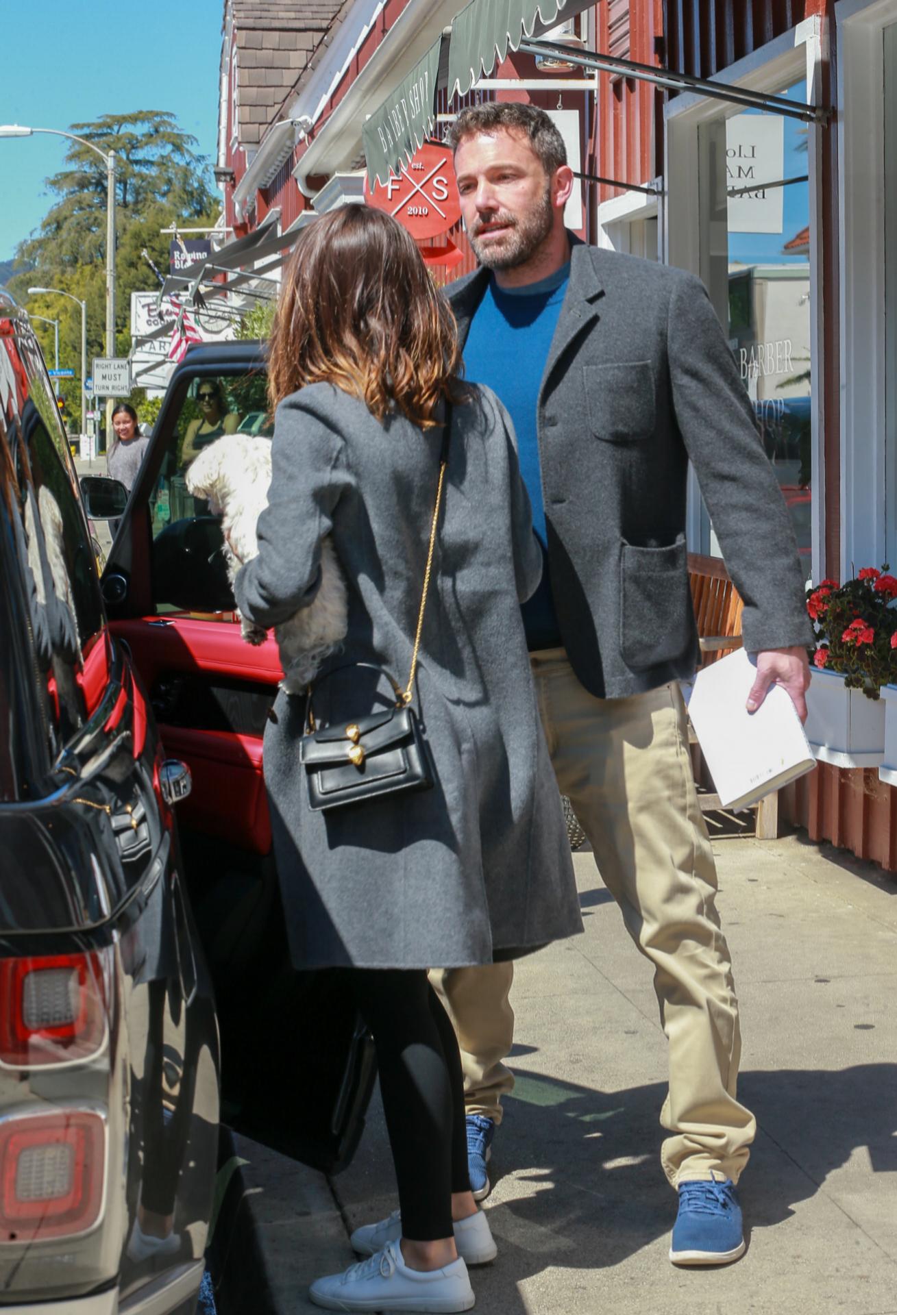 Affleck y Ana de Armas en Los Angeles.
