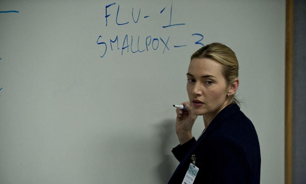 Kate Winslet en la película Contagio (2011)