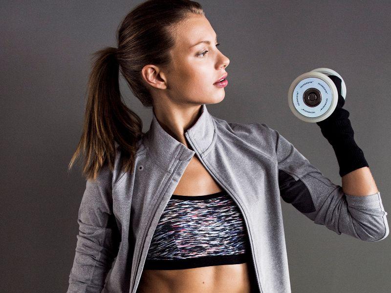 Hacer ejercicios de fuerza es importante para reforzar la musculatura...