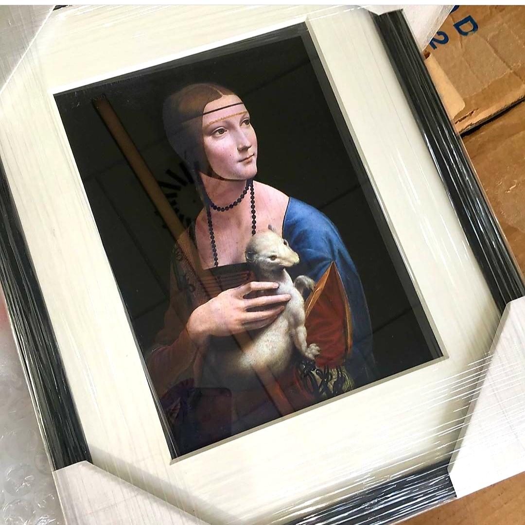 Este cuadro es un objeto que trae buenos recuerdos a Meik Wiking,...