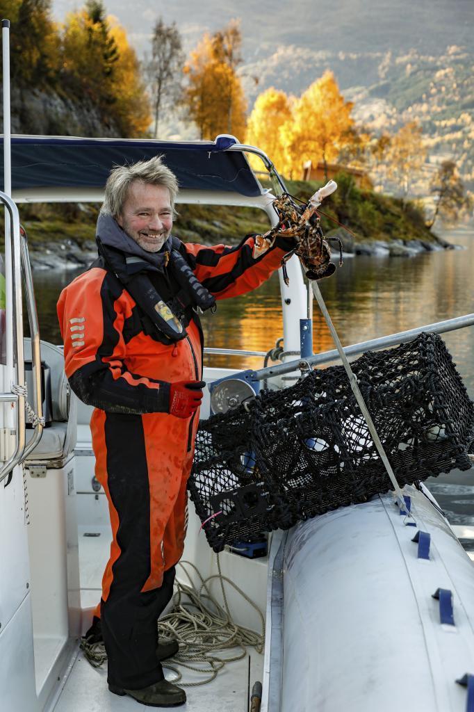 Con Frode, propietario de Briksdal Adventure, salimos a pescar...