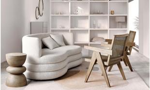 La que consigue en este ambiente el sofá <em>Solomon</em> de...