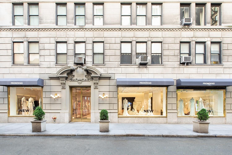 Tienda de Pronovias en Nueva York, unas de las tiendas donde se ofrece este servicio.