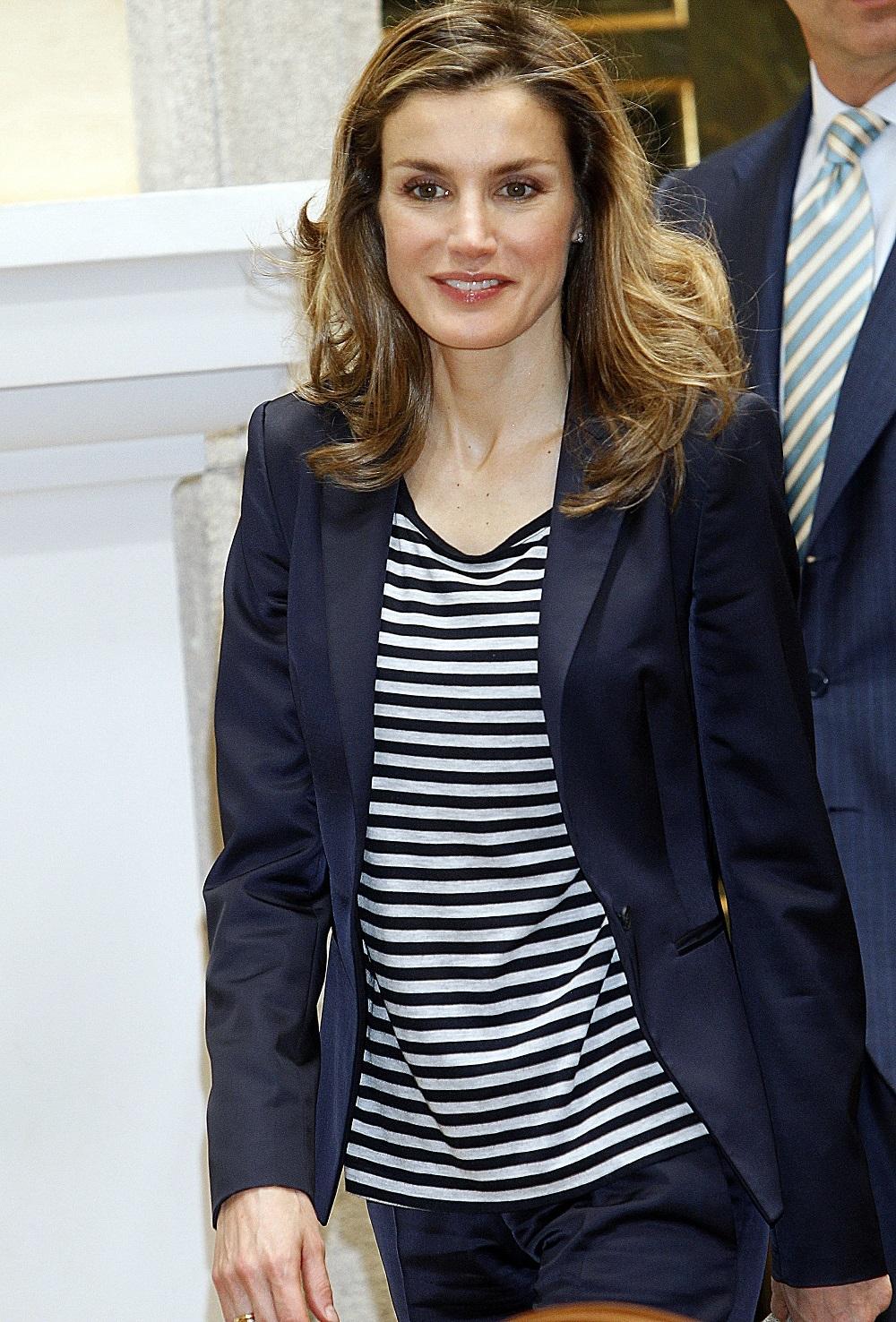 La entonces princesa de Asturias en un acto de la Fundación Caja Madrid en 2011.