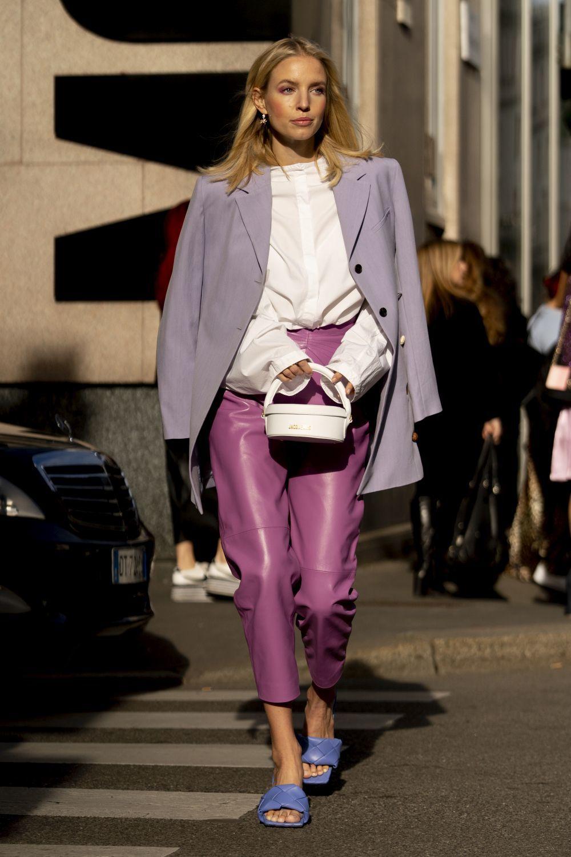 Look de street style de Leonie Hanne