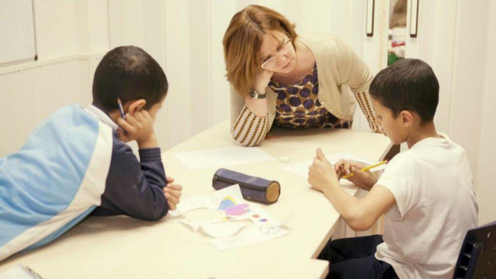Los padres son un pilar fundamental para los niños a la hora de hacer...