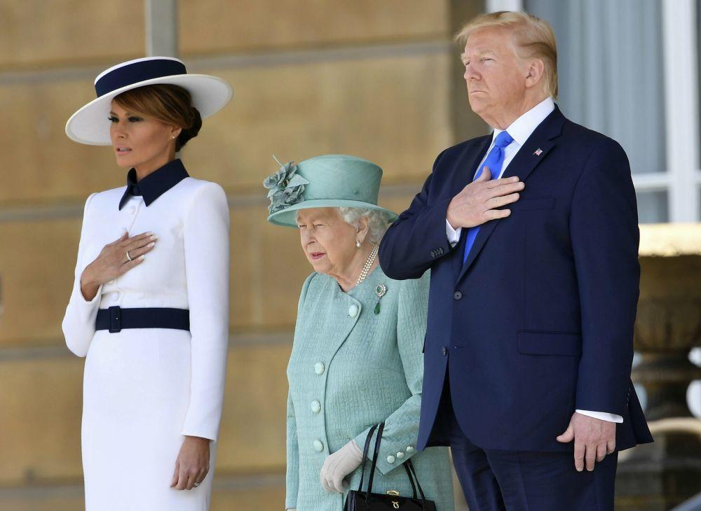 Visita de los Trump a Reino Unido.
