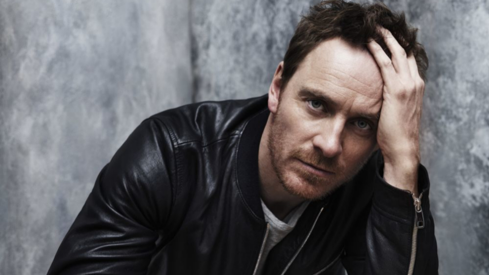 El actor Michael Fassbender.