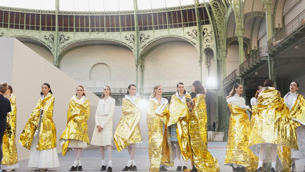 Desfile alta costura de Chanel, primavera 2020.