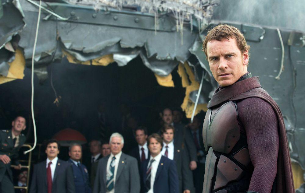Caracterizado de Magneto en X-Men.