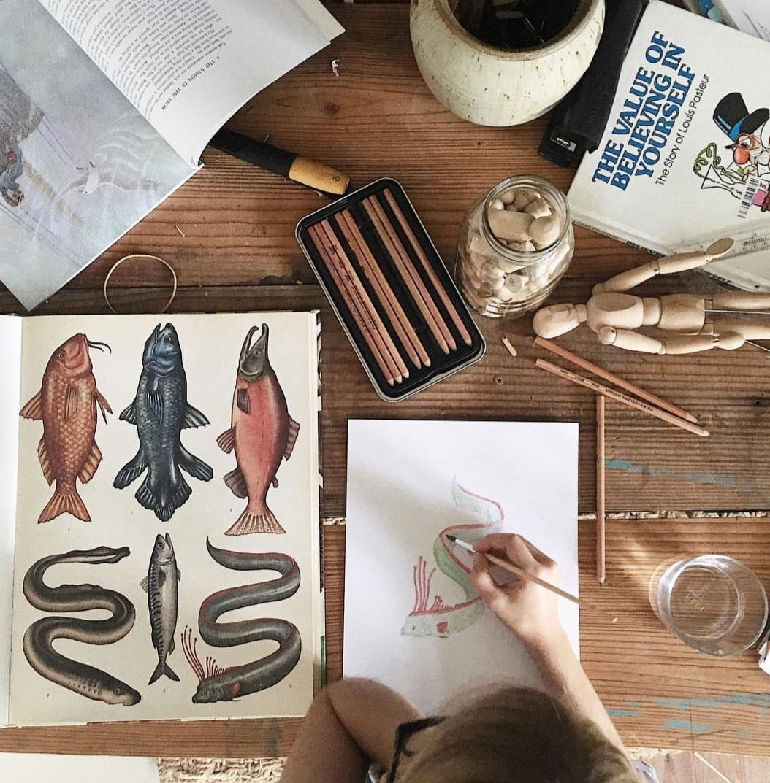 Las artes plásticas y el dibujo deben ocupar mucho tiempo en el...