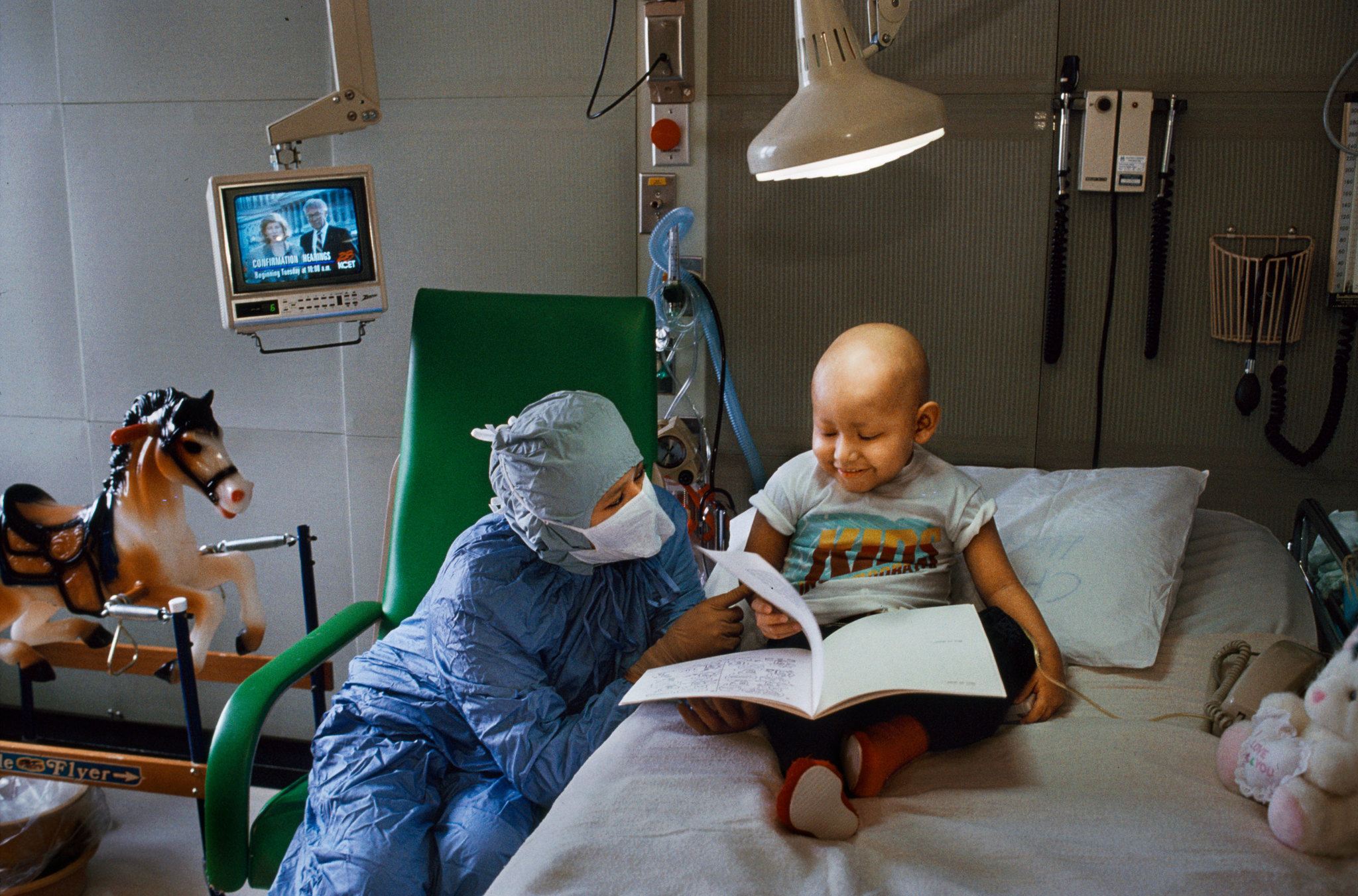 En un hospital de USA. Foto: Steven McCurry.