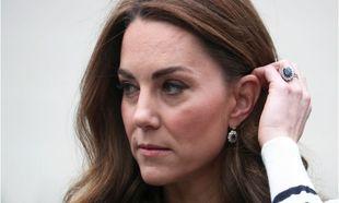 Kate Middleton con su anillo de compromiso