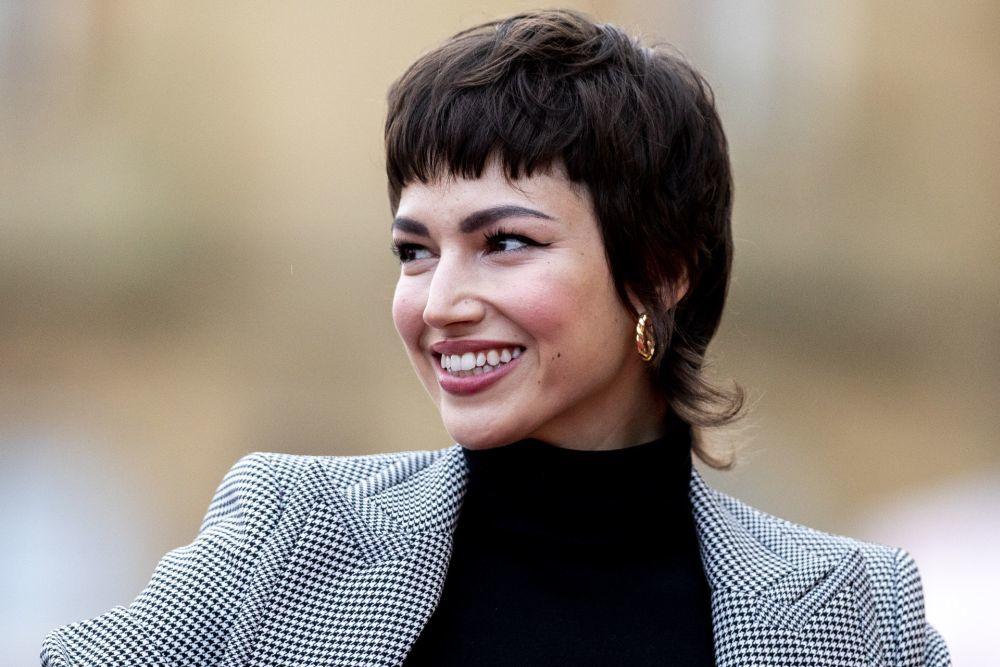 Úrsula Corberó con su corte de pelo mullet que ha dado la vuelta al mundo.