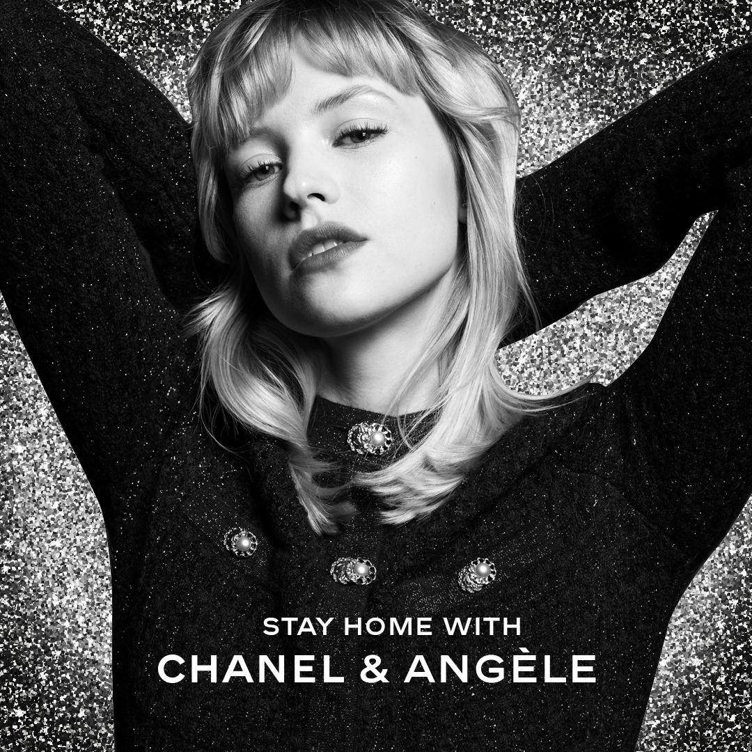 Angèle: concierto en directo ofrecido por Chanel