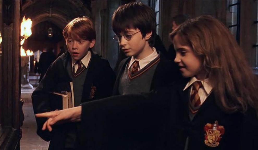 Harry Potter y La piedra Filosofal (Warner Bros).