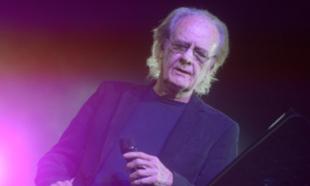 Luis Eduardo Aute en una de sus últimas actuaciones en Madrid.