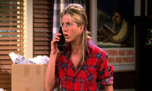 Rachel Green en Friends.
