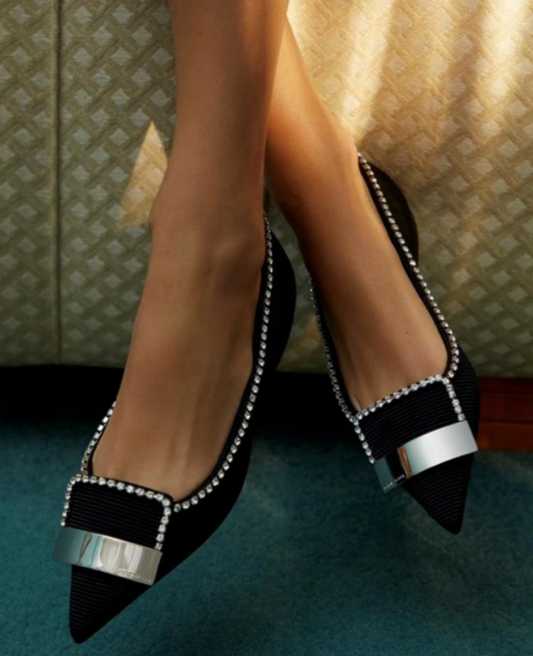 Uno de los últimos diseños de la firma Sergio Rossi exclusivos para...