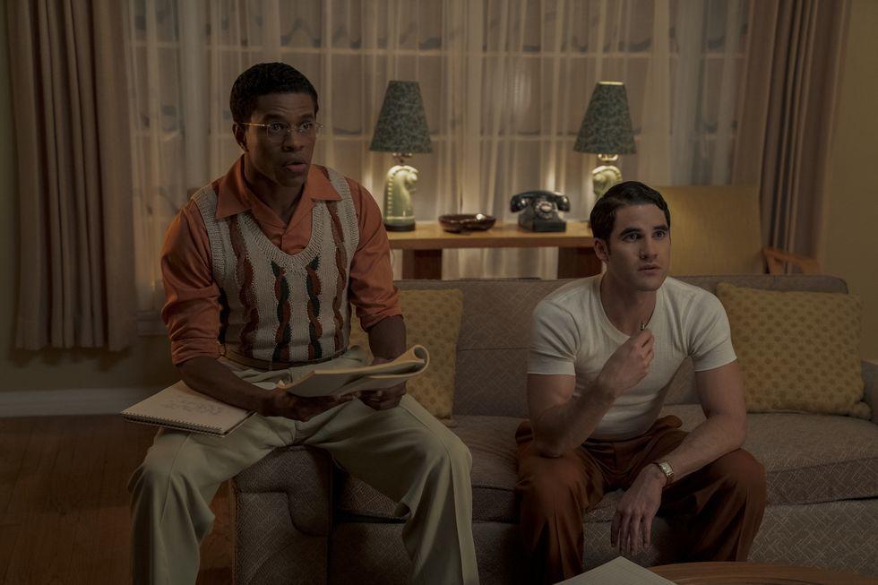 """Fotograma de la serie """"Hollywood"""", de Netflix."""