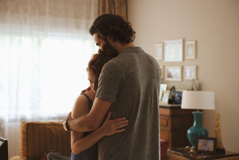 En la serie, Valeria atraviesa una crisis matrimonial con su marido, Adrián.