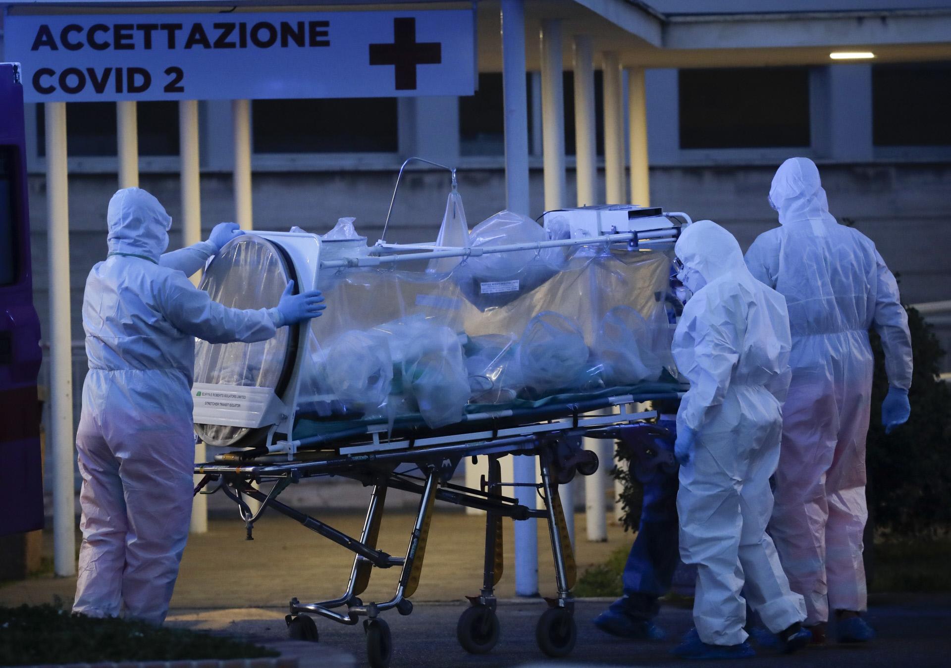 El primer caso de coronavirus se detectó en Italia el 31 de enero.