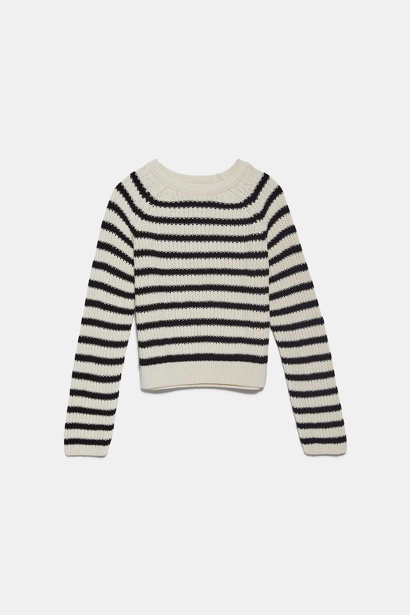 Jersey de punto de Zara (19,95 euros).