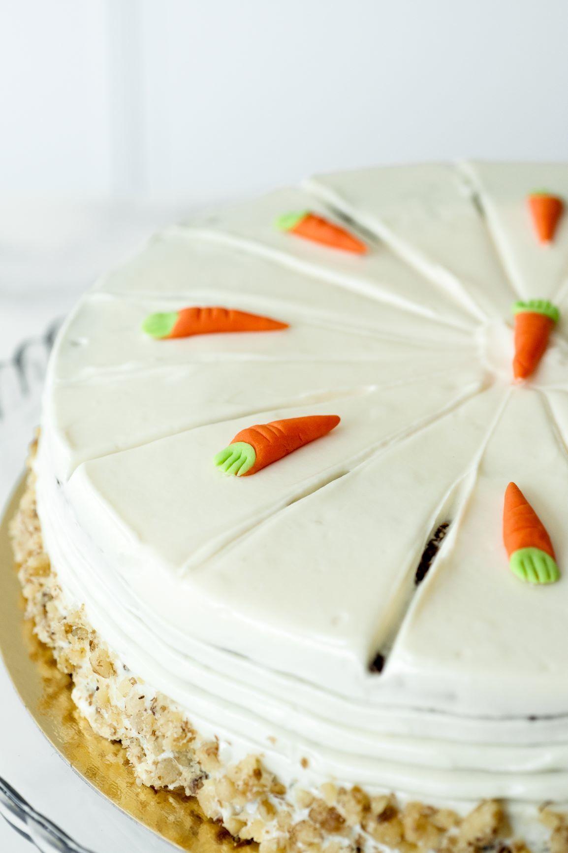 La famosa tarta de zanahoria de Las tartas de Zarina.