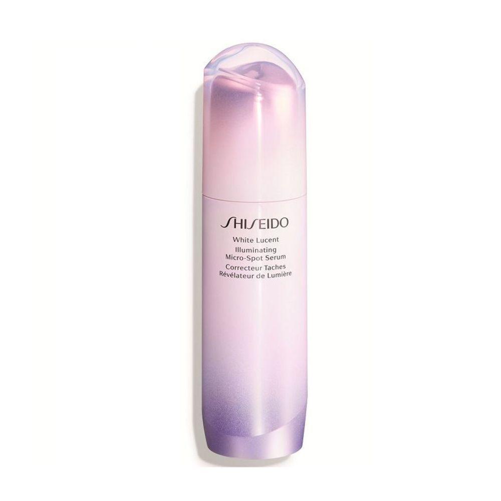 White Lucent Illuminating Micro Spot Serum de Shiseido (118 euros), con el complejo Sakura Bright System y ReNeura Technology para una piel sin manchas, más luminosa y de tono uniforme.
