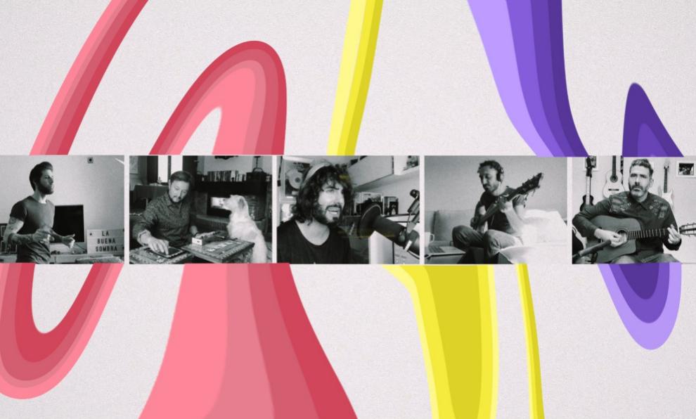"""Imagen de """"La buena sombra"""", el nuevo single de Izal."""