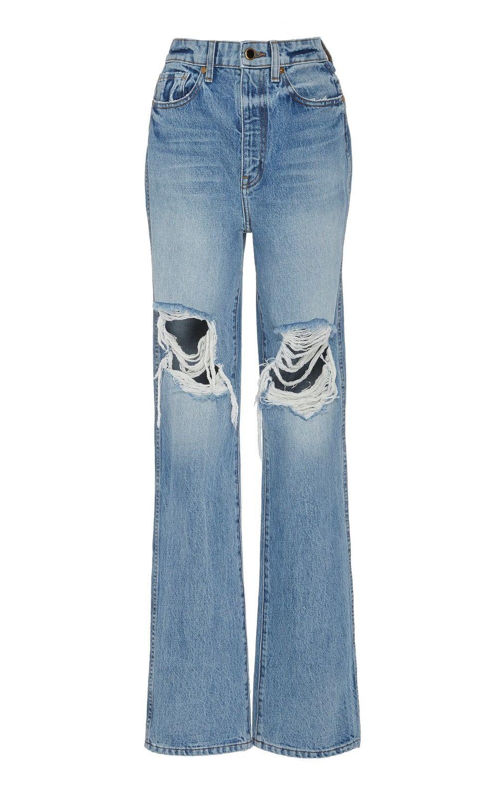 Jeans rotos de Khaite