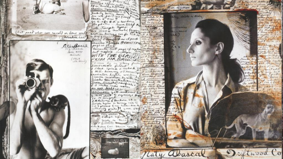 Collage extraido del libro Peter Beard. Taschen.