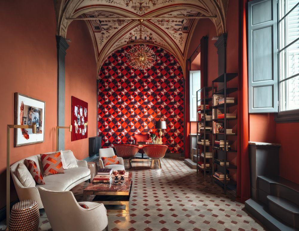 EL estudio en Florencia de Osorio donde esta colgada la obra de Peter...
