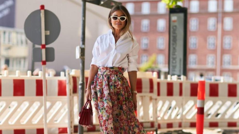 Este verano queremos una falda de flores.
