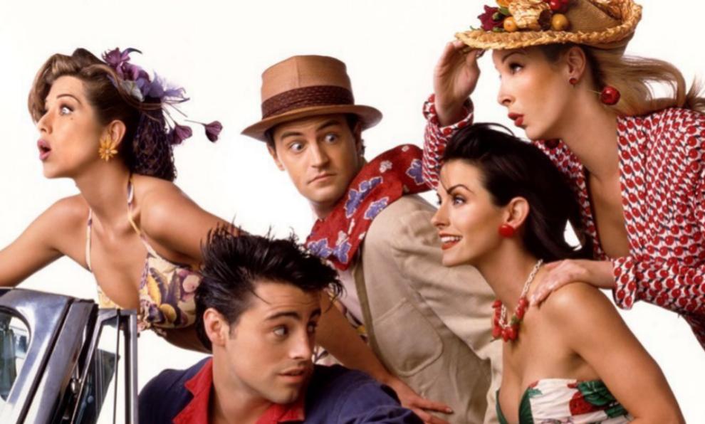 """Una de las imágenes de promoción del regreso de """"Friends""""."""