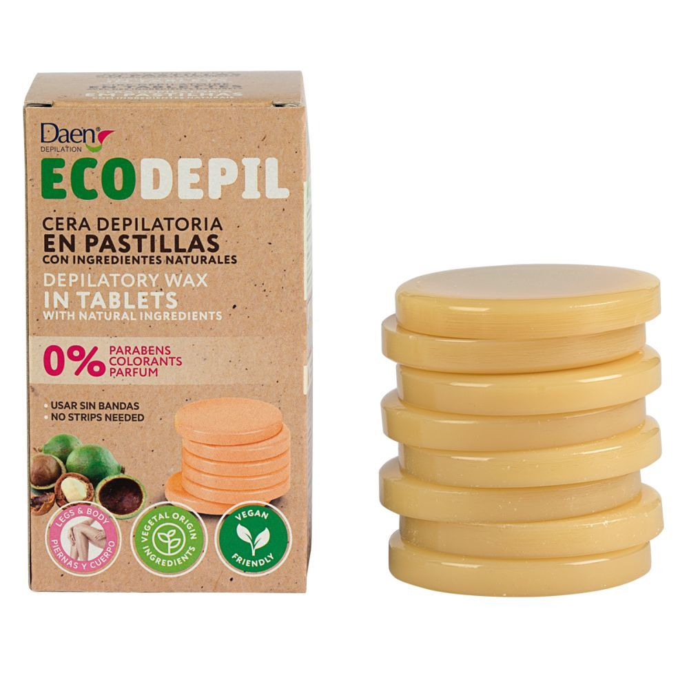 Cera depilatoria de Daen Ecodepil (5 euros). En supermercados.