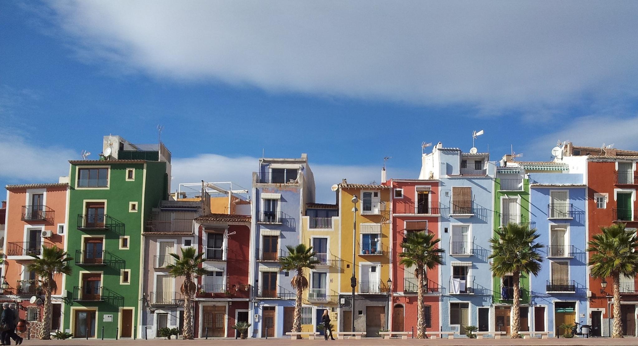 Viviendas en Villajoyosa, Alicante.