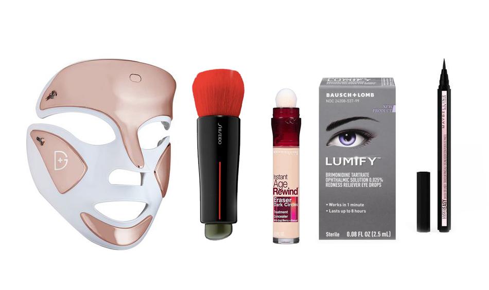 1. Máscara del Dr. Dennis Gross 2.Shiseido Daiya Fude Brush...