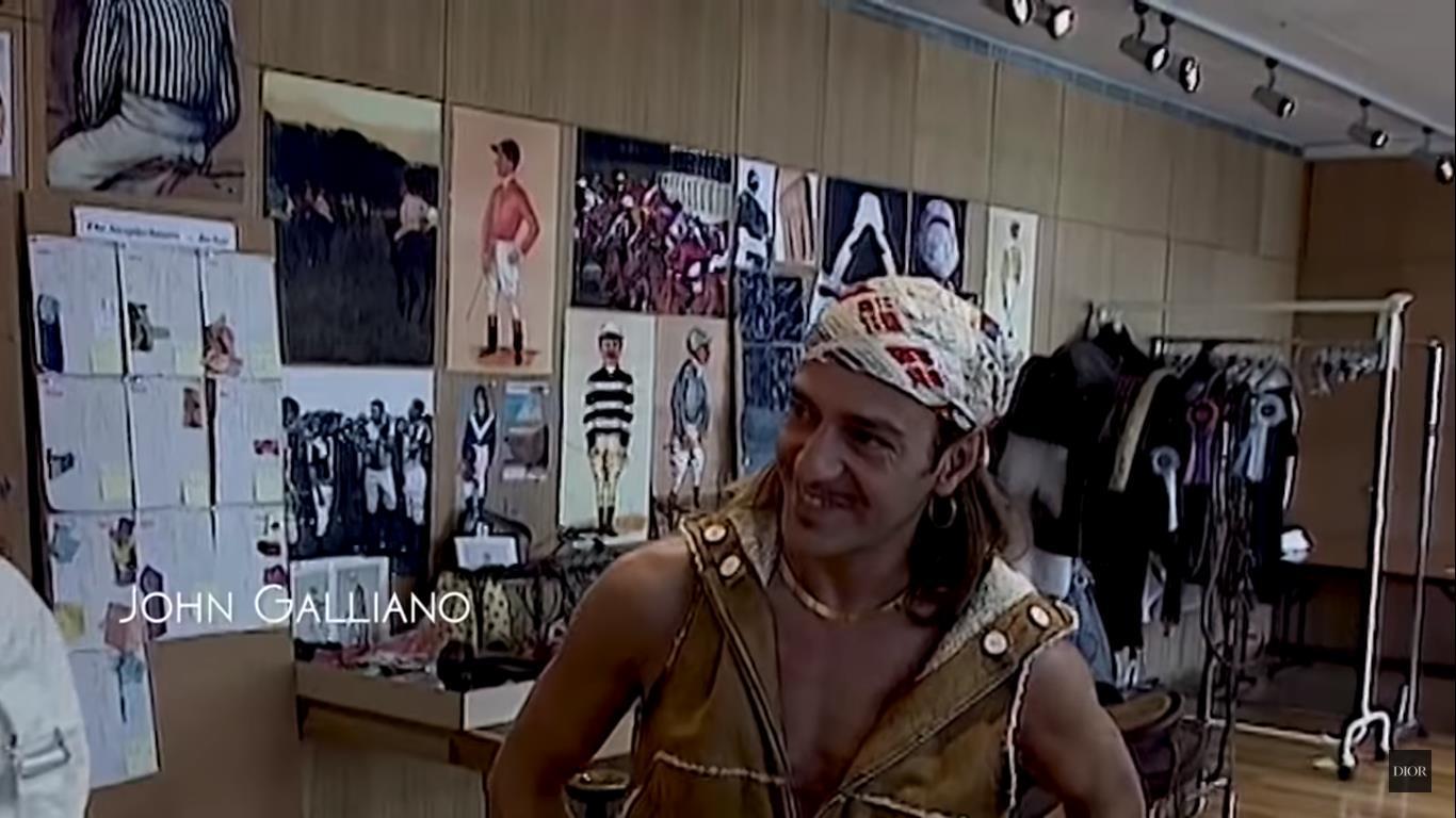 John Galliano fue el director creativo de Dior del año 1996 al 2011.