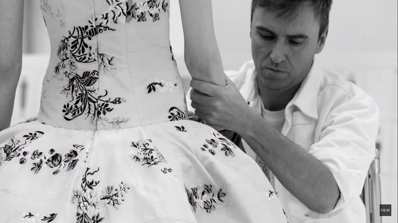 Raf Simons estuvo al frente de las colecciones de Dior durante tres años (2012-2015).