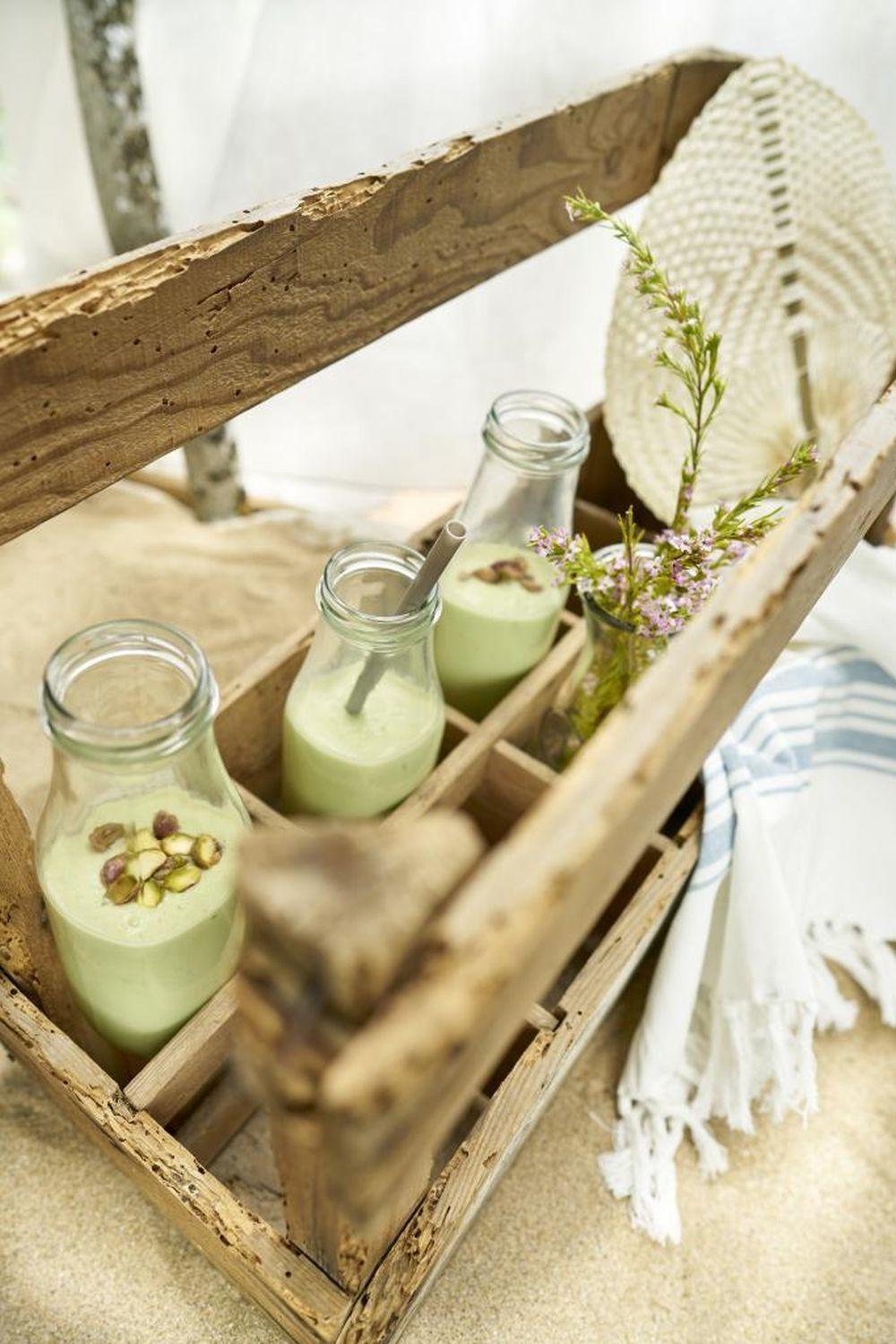 Smoothie energético y lleno de vitaminas y nutrientes