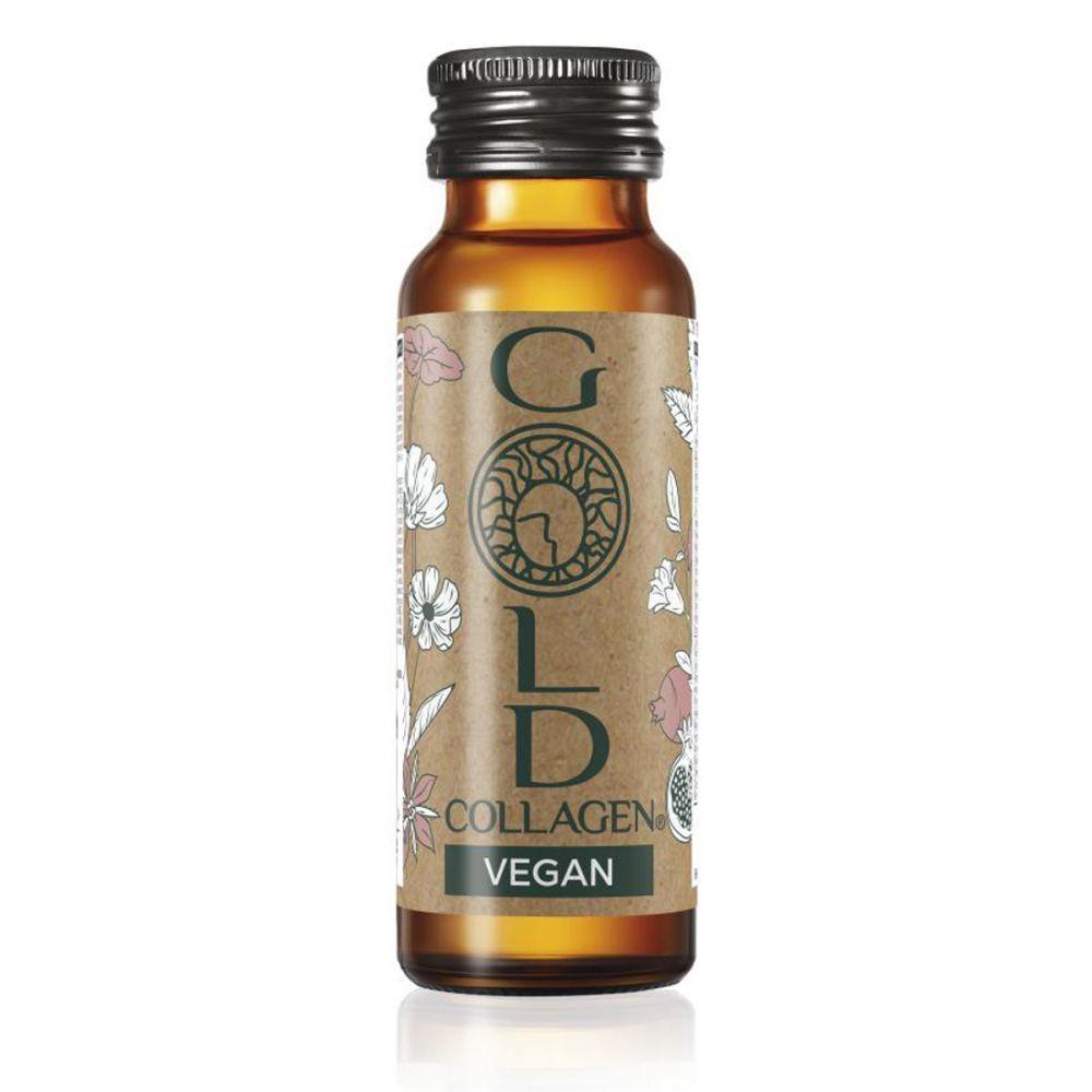 Gold Collagen (42 euros). Con  vitamina E, selenio y manganeso, implicados en la síntesis de colágeno, este suplemento bebible es de los más vendidos.